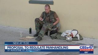 Proposal to regulate panhandling in St. Augustine