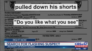 Search for flashing suspect