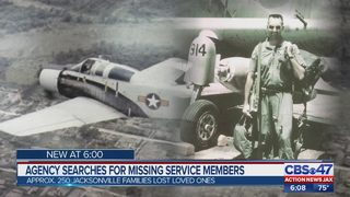 Agency searching for missing service members