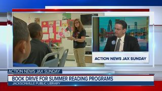 Action News Jax Sunday Feb. 25, 2018: Book drive for summer reading programs