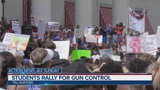Action News Jax Sunday Feb. 25, 2018: The politics of gun control