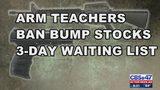 Debate over arming teachers