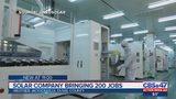 Solar company bringing 200 jobs to Jacksonville