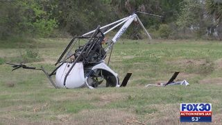 Aircraft crashes near boat ramp in Jacksonville