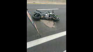 Motorcyclist dies after crashing into guardrail on Arlington Expressway