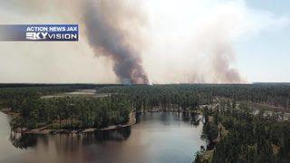 2 major prescribed burns in Jacksonville area