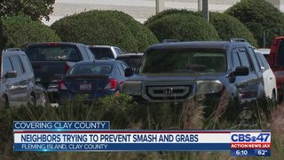 Clay County residents upset after rise in break-ins