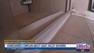 St. Johns County homeowners blame construction company for water damage, mold