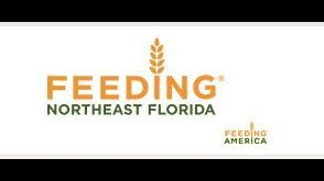 Jacksonville food deserts that receive food from Feeding Northeast Florida