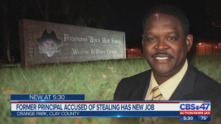 Former principal accused of stealing school money hired at Orange Park private school