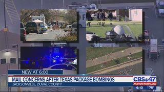 Mail concerns after Texas package bombings