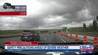 Severe weather picking up