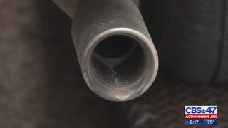 String of catalytic converters stolen from cars