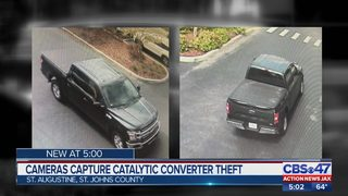Suspected truck used in series of catalytic converter thefts sought by SJSO
