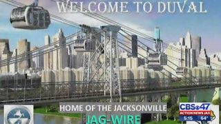 Gondola rides over Jacksonville