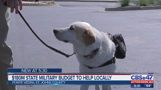 State military budget to help locally
