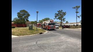 Photos: Fire at Shore Line Apartments in Jacksonville