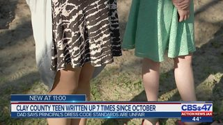 "Clay County parent says school dress code enforcement ""arbitrary and unfair"""