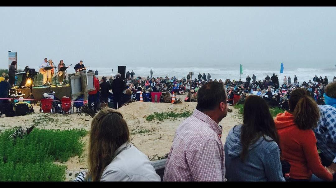 Photos Easter Sunrise Service At Vilano Beach 2 9