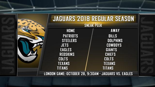 Jaguars 2018 Schedule