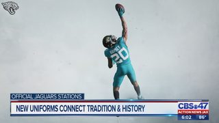 Jacksonville Jaguars reveal new uniforms during