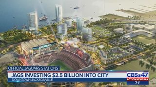 Jags investing $2.5 billion into city