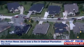 Fire destroys Oakleaf Plantation home in Clay County
