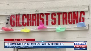 Memorials on display around Gilchrist County to honor slain deputies