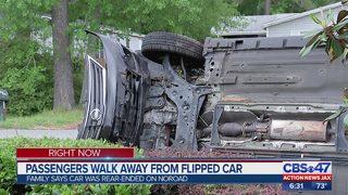 Crews respond to 2 Westside Jacksonville crashes