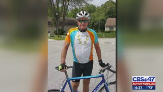 Local man biking cross country for multiple sclerosis research