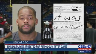 "Jacksonville Sharks player arrested following ""altercation"" between teams"