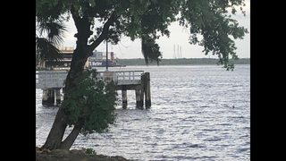 Three people pulled from water after boat turns over near Dames Point Bridge