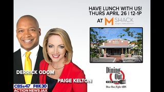 Dine out with Paige Kelton and Derrick Odom and help fight AIDS