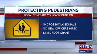 Efforts to protect pedestrians