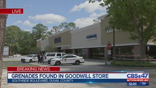 Grenades Found in Goodwill Store