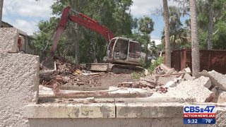 Historic Echo house in St. Augustine torn down