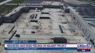 Neighbors have mixed feelings on Walmart project in Durbin Park