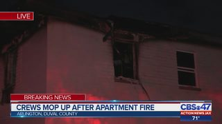 Firefighters have Arlington apartment fire under control