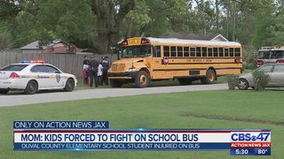 Mom: Kids forced to fight on school bus