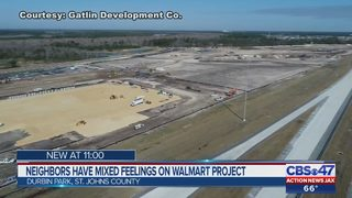 Neighbors have mixed feelings on new Walmart project