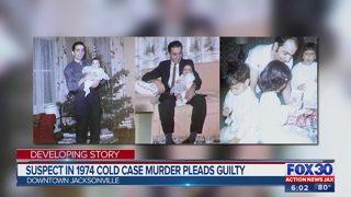 Suspect in 1974 murder pleads guilty