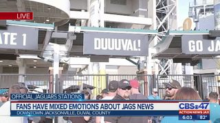 Fans have mixed emotions about Jags news