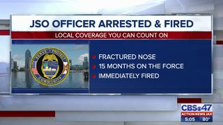 JSO Officer arrested and fired