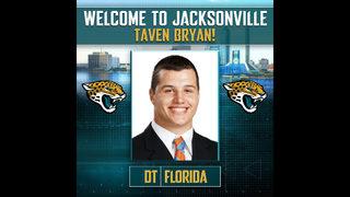 Jags take Taven Bryan as their first-round pick