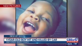 Macclenny toddler hit, killed by car