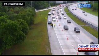 FHP: 2 dead in crash on I-95 NB near Southside Blvd. in Jacksonville