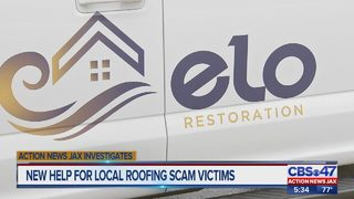 Contractor helps customers who say Jacksonville roofer scammed them