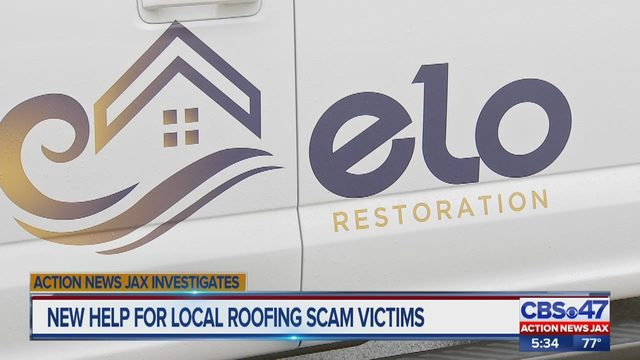 Contractor helps customers who say Jacksonville roofer