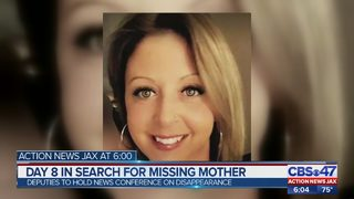Day 8 in search for missing mother
