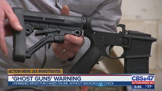 """Ghost Guns"" warning"